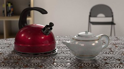 Bollitore e teiera – Blender