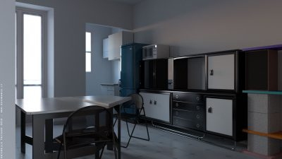 Appartamento 01 – Blender