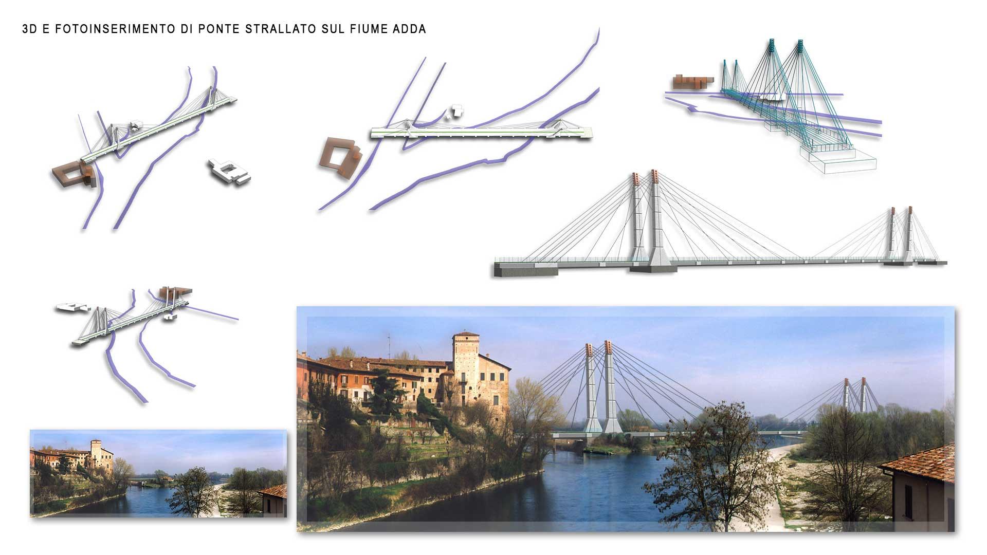 Ponte sul fiume Adda