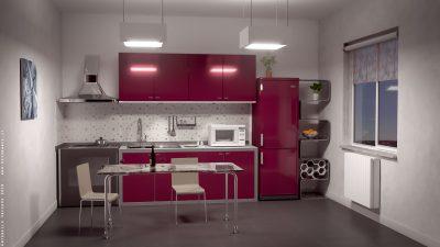 Cucina rossa – Blender